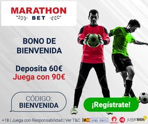 bono bienvenida marathon 30 euros