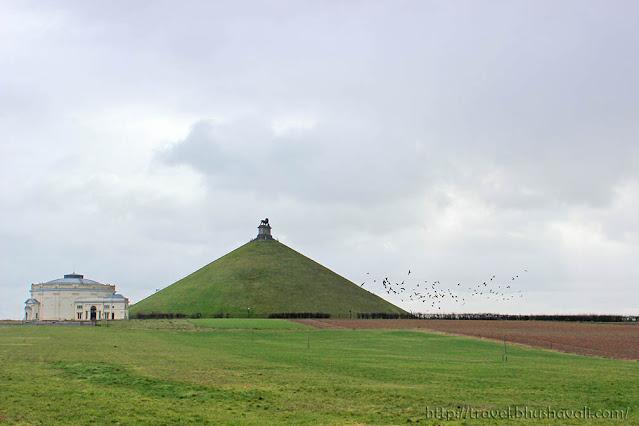 Waterloo Lion's Mound Napoleon's last battlefield