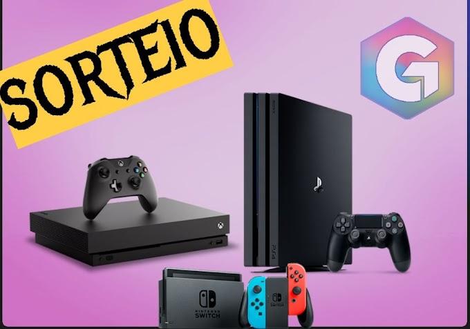 SORTEIO - Ganhe um: Xbox One X, PS4 Pro ou Nintendo Switch - Você escolhe!