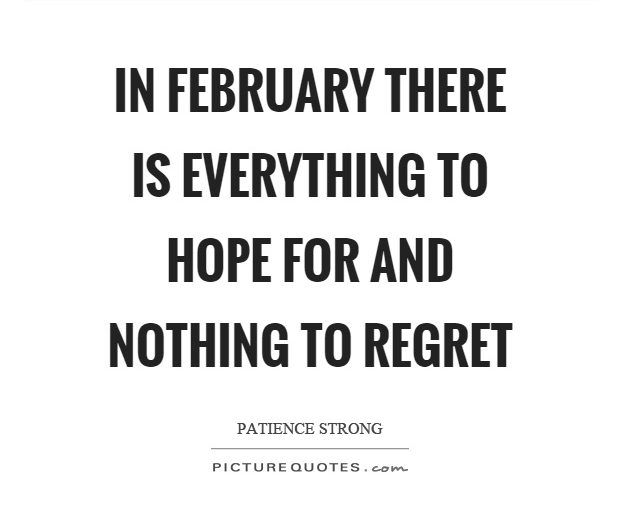 Setahun Sudah Berlalu, Februari Muncul Lagi