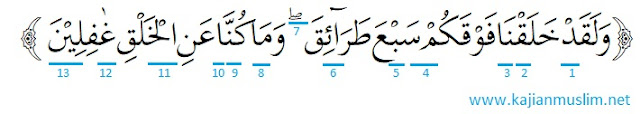 Hukum tajwid surat al muminun ayat 17