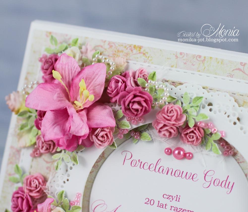 Wild Orchid Crafts: 20th wedding anniversary