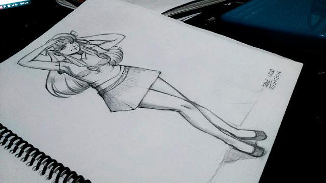 Dibujo hecho en lápiz