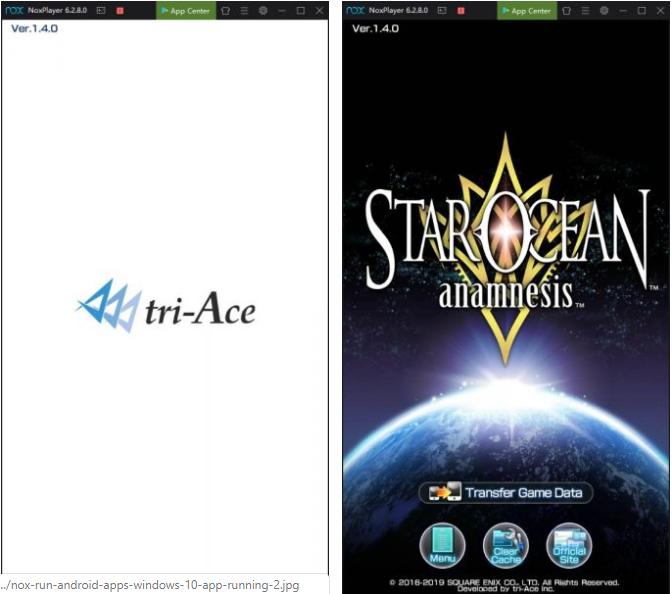 nox menjalankan aplikasi android