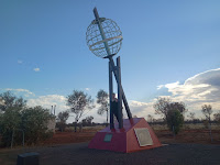 Northern Territory Roadside Attraction | Burt Plain Tropic of Capricorn