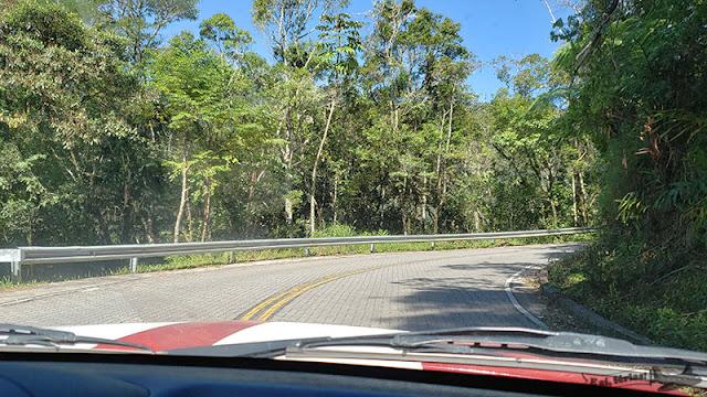 Estrada Real, trecho entre Paraty e Cunha.