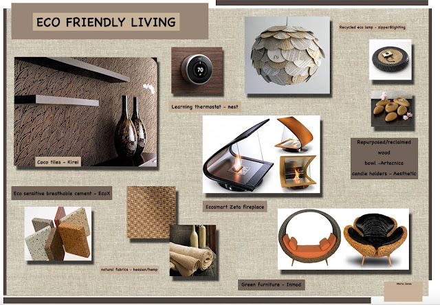 Eco Friendly living Mood Board