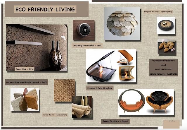 Eco Friendly living Mood Board