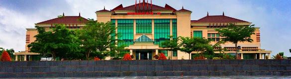 Gedung Kantor Bupati Kabupaten OKU Timur
