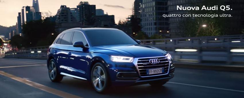 Canzone Audi pubblicità Nuova Audi Q5. Now is calling. - Musica spot Gennaio 2017