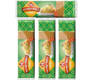 Honeywell Spaghetti Pasta - Nigerian Type Long-String Wheat Foods of Italian Origin