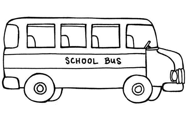Wheels bus coloring pages ~ Transportation Coloring Pages: Bus Coloring Sheets For Kids