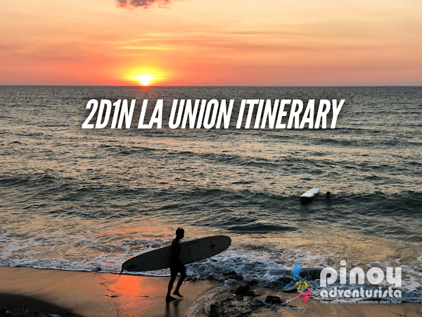 La Union Itinerary 2 days detailed travel guide blog