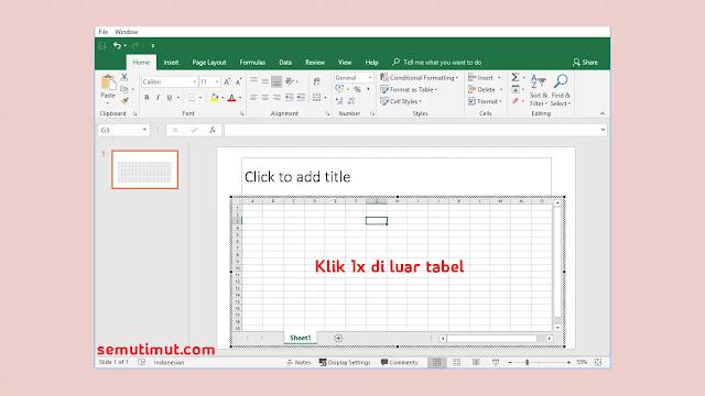 cara membuat tabel di powerpoint 2010