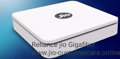 Reliance jio Gigafiber jio broadband