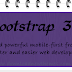 Features: What's New in Bootstrap 3