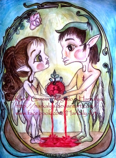 The Gift by Enchanted Visions Artist, Harkalya Reveur