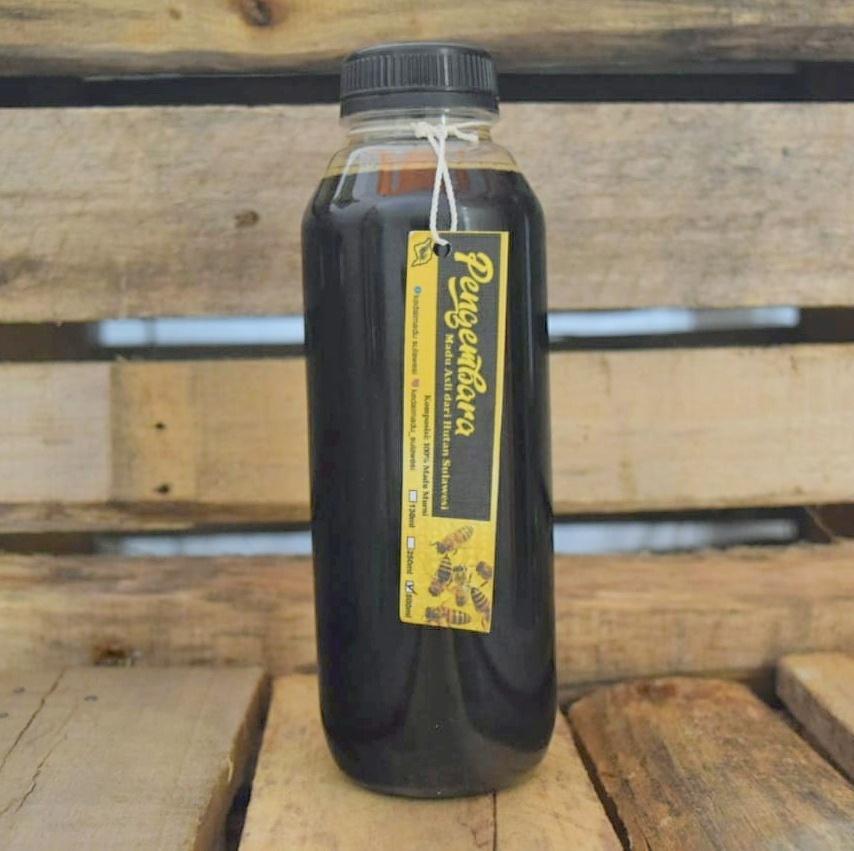 Madu hitam 500 ml - Kedai Madu Sulawesi