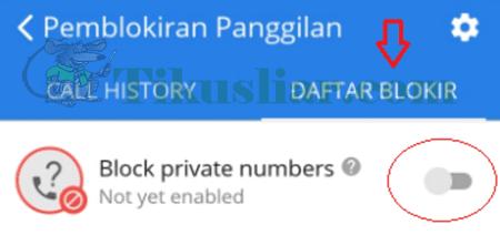 Cara Memblokir Nomor Telepon Di Hp Android Dengan CM Security