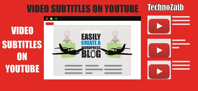 Video subtitles on YouTube