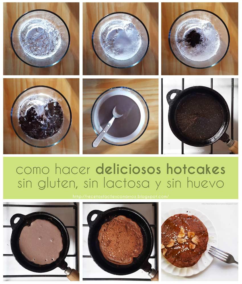 pancakes chocolate fototutorial