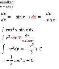 Pembahasan soal integral trigonometri
