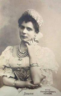 Pierina Legnani picture in St Petersburg in around 1895