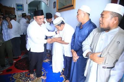 Upah - Upah Haji Kecamatan Pangkatan Di Hadiri PLT. Bupati Labuhanbatu