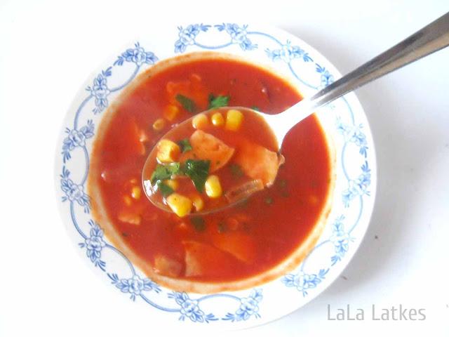 суп из томатного сока - обед на скорую руку
