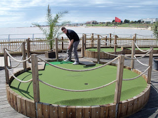 Adventure Golf on Clacton Pier