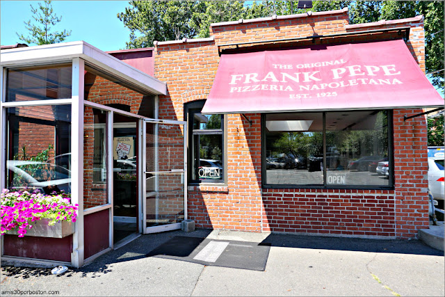 Frank Pepe Pizzeria Napoletana en New Haven, Connecticut