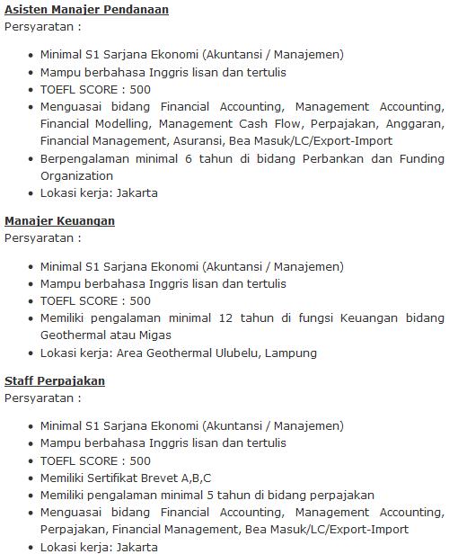 Lowongan Kerja Minyak 2013 Lowongan Kerja Bi Bank Indonesia Terbaru Oktober 2016 Ini Burun Daftar Lowongan Kerja Pertamina By Lowongan Bumn Com