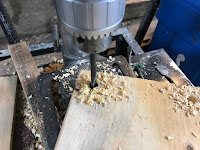 Drilling 1/2 inch holes