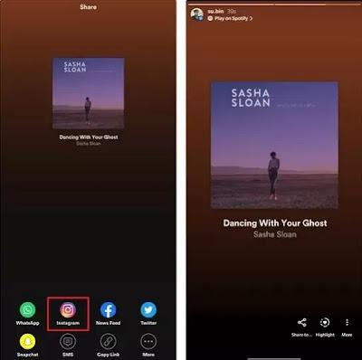 Cara Berbagi Lagu ke Cerita Instagram dari Spotify, Apple Music, dan Lainnya-2