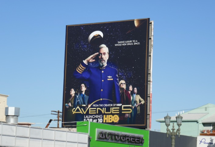 Avenue 5 series premiere billboard