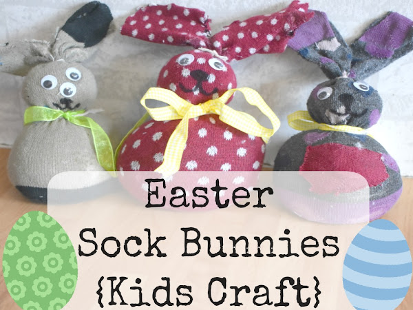 Easter Sock Bunnies {Kids Craft}