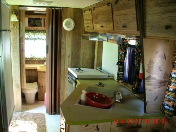 Dodge Winnebago Kitchen