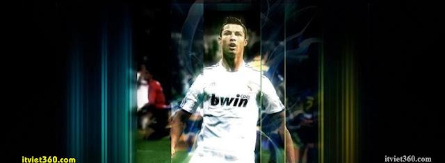 Ảnh bìa Facebook bóng đá - Cover FB Football timeline, Ronaldo CR7