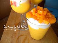 Cara Membuat Minuman King Mango Thai Yang Kekinian