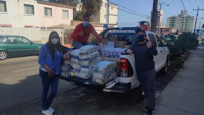 Supervisores de Sierra Gorda hicieron entrega de ayudas sociales