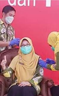 RSUD Bangil Lakukan Vaksinasi Covid 19 Kepada Nakes