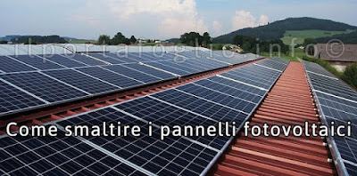 smaltimento fotovoltaico