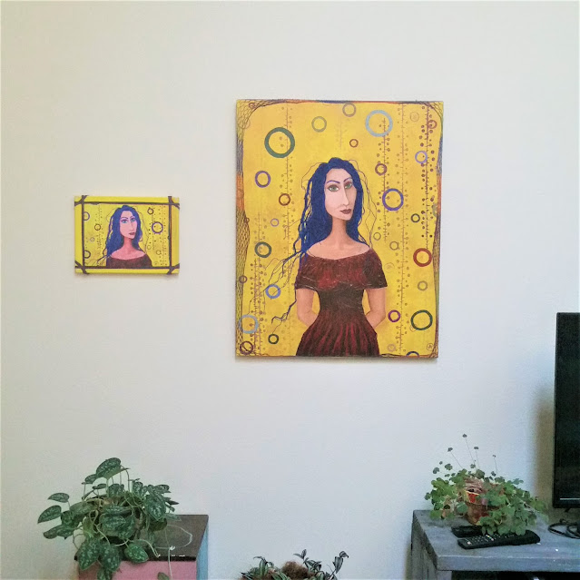 eileen a art original painting