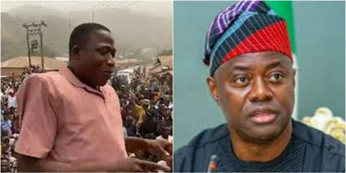 Bring all the soldiers and policemen to arrest me in my house - Activist Sunday Igboho dares Governor Makinde