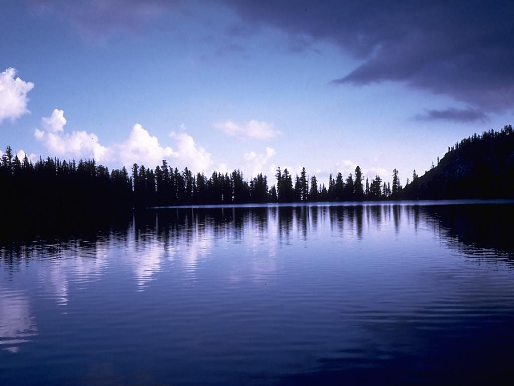 Valerie Kinney: Lake Background