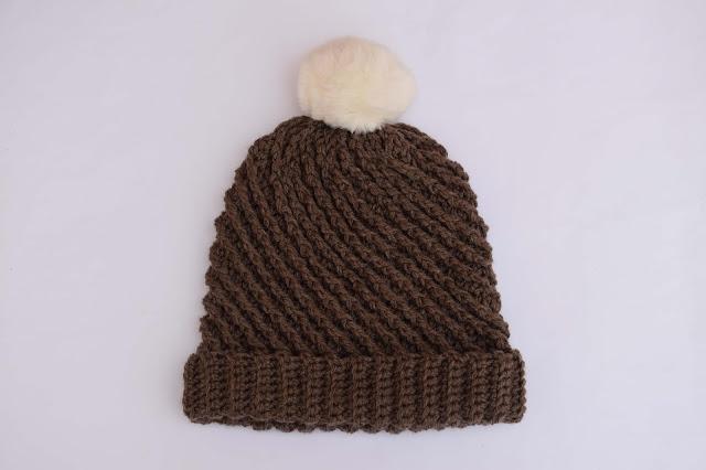 3-Crochet Imagenes Gorro con puntada en relieve a crochet y ganchillo por Majovel Crochet