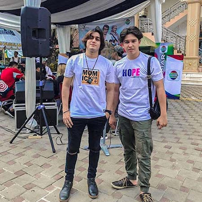 Sanjid Azero dan Sidik Eduard