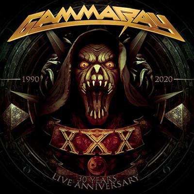 """Ο δίσκος των Gamma Ray """"30 Years Live Anniversary"""""""