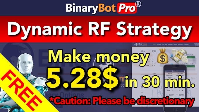 Dynamic RF Strategy | Binary Bot Pro