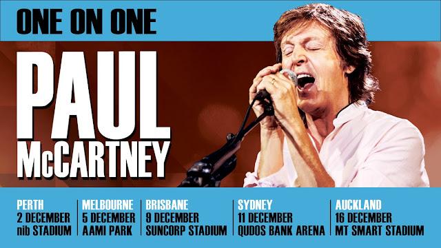 The Beatles Polska: Australia i Nowa Zelandia zostały oficjalnie potwierdzone w ramach tegorocznej trasy koncertowej One On One